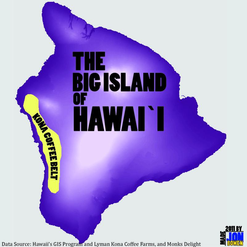 Coffee Plantation - GEOG 368: Geography of Hawai'i on kona snorkeling map, pineapple tour map, hawaii tour map, kona hawaii, kona shopping map, kona beach map, ywam kona map, kona road map, kona state parks, kona makai map,